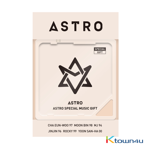 ASTRO - 2018 ASTRO Special Single Album (Kihno Album) *Due to the built-in battery of the Khino album, only 1 item could be ordered and shipped at a time.