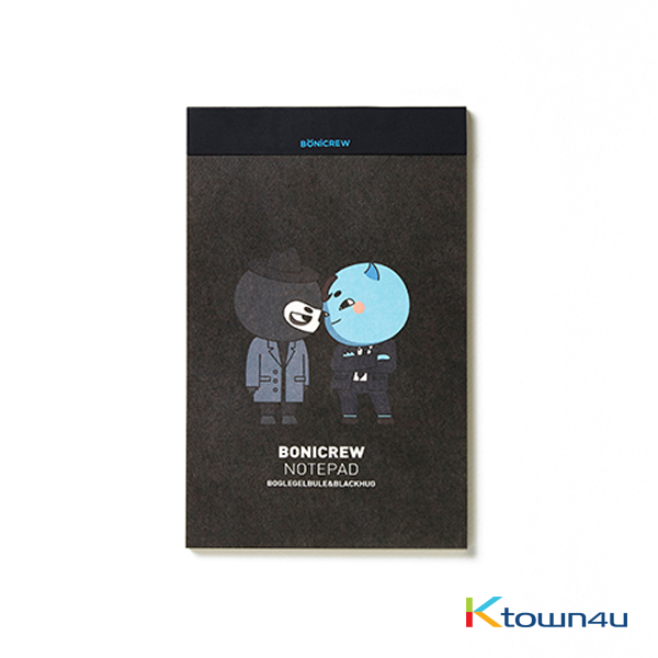 [BONICREW] Guardian: The Lonely and Great God - Bonicrew Notepad (A5) Blackhug&Boglegelblue