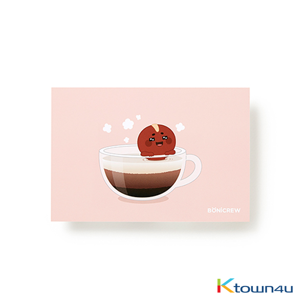 [BONICREW] Guardian: The Lonely and Great God - Postcard Ver.3 (Poipot Coffee)