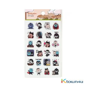 [BONICREW] Guardian: The Lonely and Great God - Transparent Mini Sticker Bogle Family