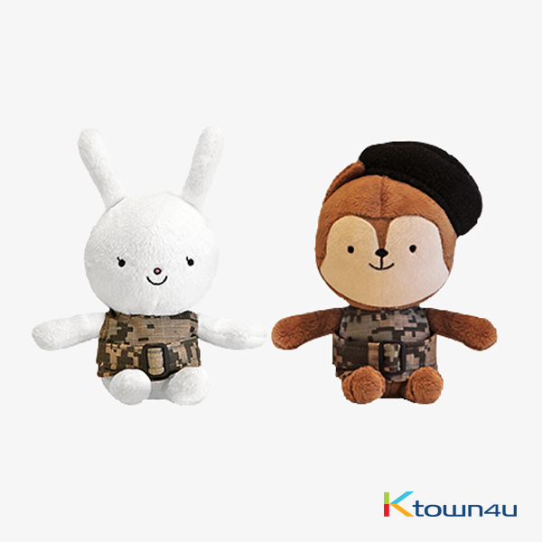[BONICREW] Descendants Of the Sun Doll NEUKKUN & HAYANG Small Set - KBS Drama (Song Joongki / Song Hyekyo)