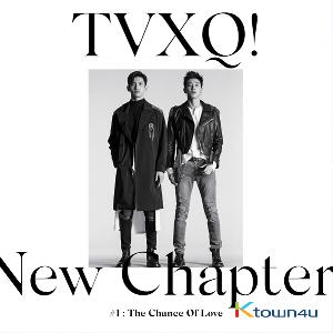 TVXQ! - Album Vol.8 [New Chapter #1 : The Chance of Love] (Random Ver.)