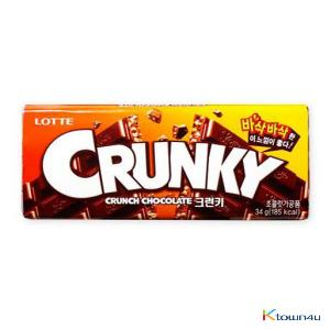 [LOTTE] Crunky 34g