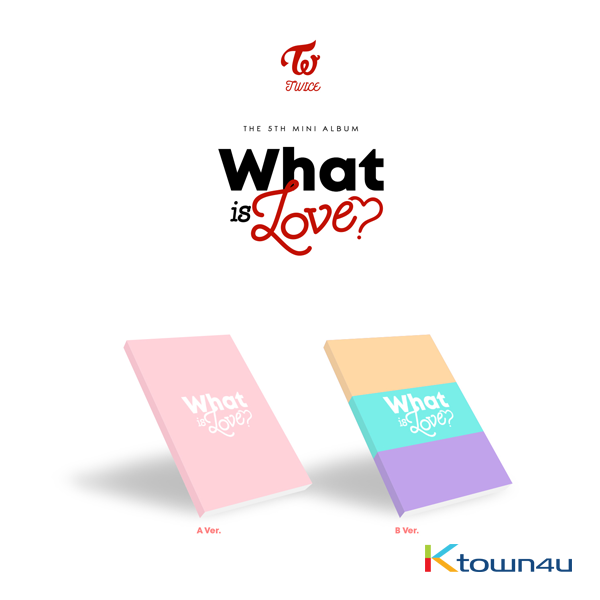 TWICE - Mini Album Vol.5 [WHAT IS LOVE?] (Random Ver.)