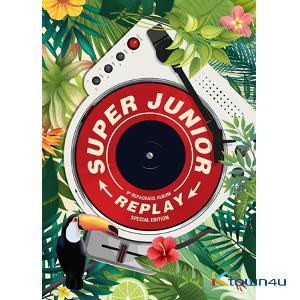 Super Junior - Album Vol.8 Repackage [REPLAY] (Special Edition)