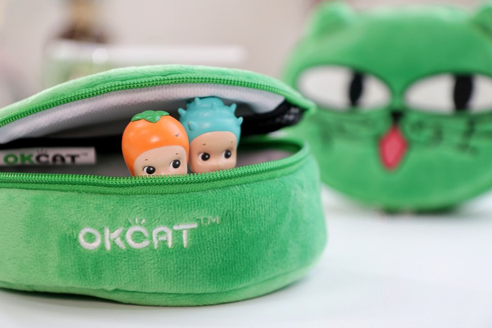 [+Free Pouch] [Color Set 2] [costagram] OKCAT - MILK FACE LIP CAPTURE TINT (#2020 Juliet forever orange) + EYE SHADOW + LIP BALM