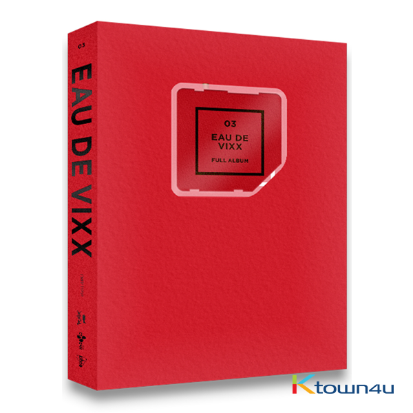 VIXX - Album Vol.3 [EAU DE VIXX] (Red Ver.) (KINO Album)