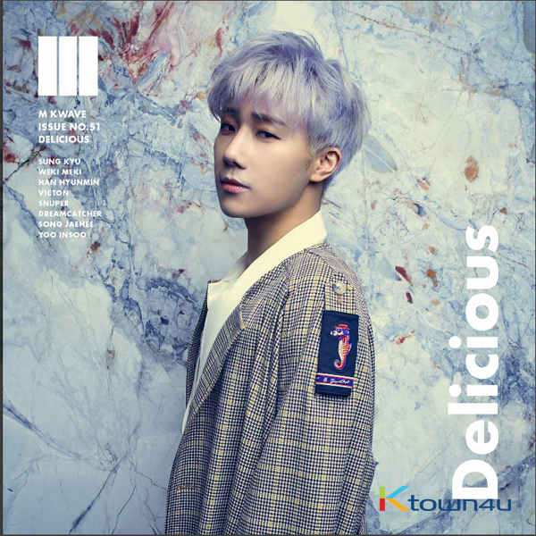 KWAVE M ISSUE NO.51 (INFINITE : Kim Seong Kyu)