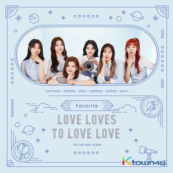 FAVORITE - Mini Album Vol.2 [Love Loves To Love Love]