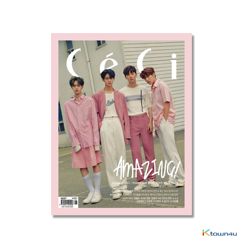 CECI ANOTHER CHOICE 2018.06 B ver (Wanna One : Hwang Min Hyun, Park Woo Jin, Bae Jin young, Lee Dae Hwi 22p) *Bromide Gift