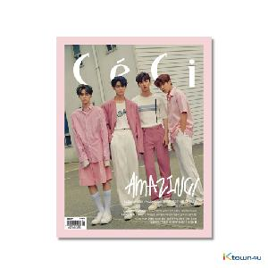 CECI ANOTHER CHOICE 2018.06 B ver (Wanna One : Hwang Min Hyun, Park Woo Jin, Bae Jin young, Lee Dae Hwi 22p, Contents GOT7 : Mark) *Bromide Gift
