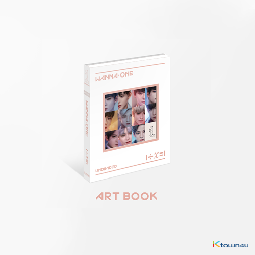 WANNA ONE - Special Album [1÷χ=1 (UNDIVIDED)] (Art Book Ver.)