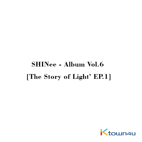 SHINee - Album Vol.6 [The Story of Light' EP.1]