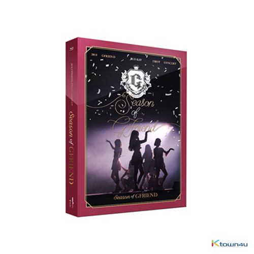 [Blu-Ray] GFRIEND - 2018 GFRIEND FIRST CONCERT [Season of GFRIEND] CONCERT Blu-Ray (REGION CODE : A)