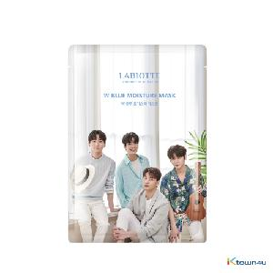 NU`EST - Labiotte W Blue Moisture Mask (*Order can be canceled cause of early out of stock)