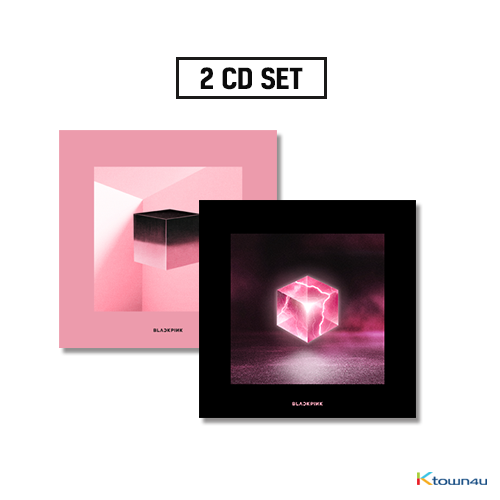 [SET][2CD SET] BLACKPINK - Mini Album Vol.1 [SQUARE UP] (Black Ver. + Pink Ver.) * to buy poster, please select the poster option