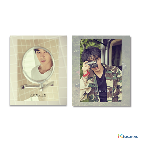 [SET][2PHOTOBOOK SET] [Photobook] JUNJIN - THE SEASONS REVOLVE (A SUMMER Ver. + B SUMMER Ver.) * to buy poster, please select the poster option