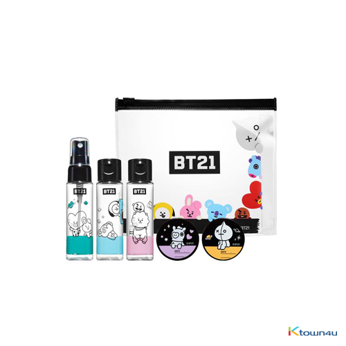 [BT21] Cosmetic empty bottle Kit
