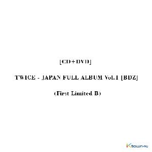 [CD+DVD] TWICE - JAPAN FULL ALBUM Vol.1 [BDZ] (First Limited B)