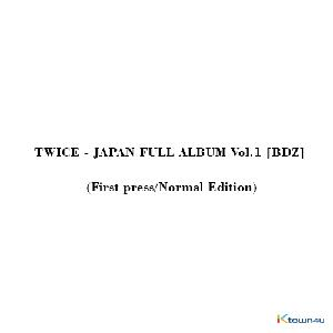 TWICE - JAPAN FULL ALBUM Vol.1 [BDZ] (First press/Normal Edition)