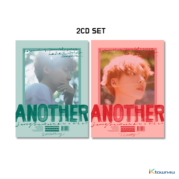 [SET][2CD SET] Jeong Se Woon - Mini Album Vol.2 [ANOTHER] (TWENTY Ver. + SOMETHING Ver.) * to buy poster, please select the poster option