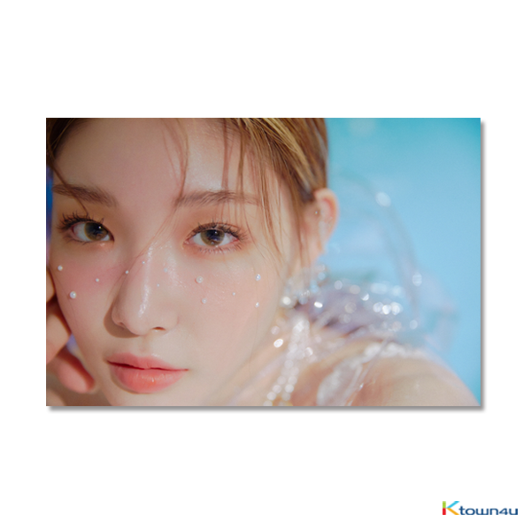CHUNG HA - Mini Album Vol.3 [Blooming Blue]