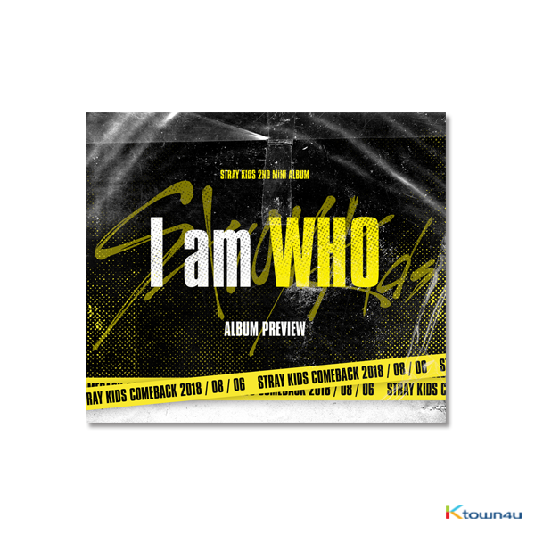 Stray Kids - Mini Album Vol.2 [I am WHO] (Random Ver.) *2 versions will be sent in case of purchasing 2 albums