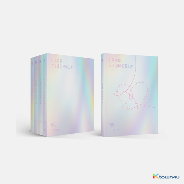 BTS - Repackage Album [LOVE YOURSELF 結 'Answer'] (E Ver.)