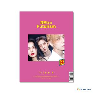 [Signed Edition] TRIPLE H - Mini Album Vol.2 [REtro Futurism] (Stock date can be delaying cause of artist issue, so the item should be ordered independently.)