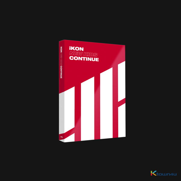 iKON - Mini Album [NEW KIDS : CONTINUE] (RED Ver.)