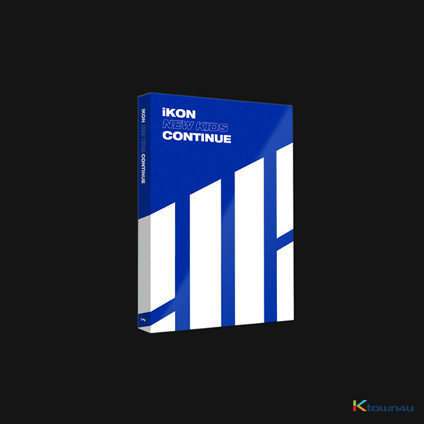 iKON - Mini Album [NEW KIDS : CONTINUE] (BLUE Ver.)