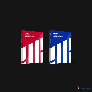[SET][2CD SET] iKON - Mini Album [NEW KIDS : CONTINUE] (RED Ver. + BLUE Ver.) * to buy poster, please select the poster option