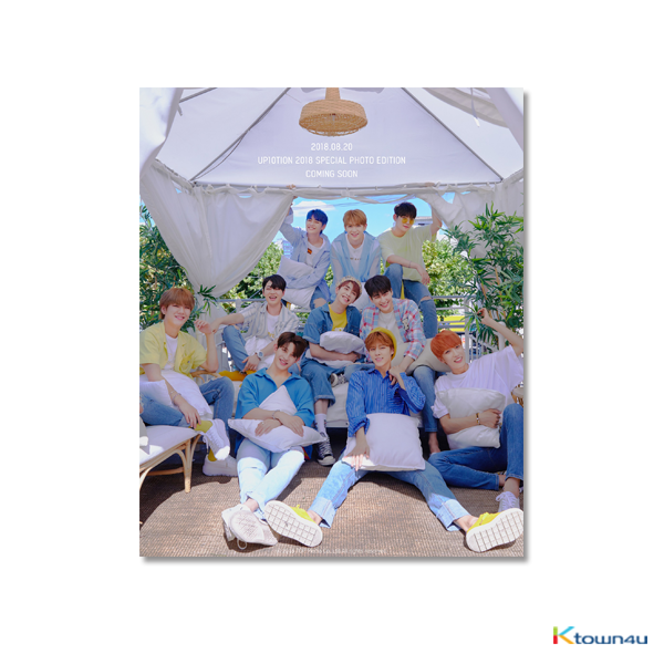 [Photobook] UP10TION - UP10TION 2018 SPECIAL PHOTO EDITION