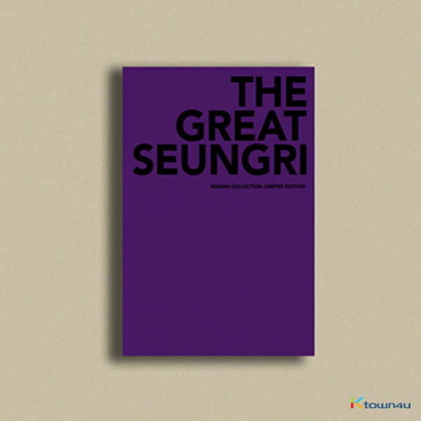 [Photobook] Big Bang : Seung Ri - SEUNGRI FIRST SOLO ALBUM [THE GREAT SEUNGRI] MAKING COLLECTION (LIMITED EDITION)