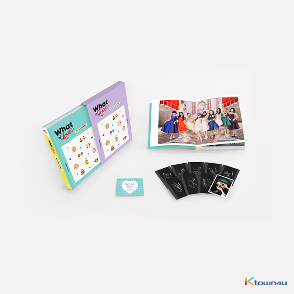 [Photobook] TWICE - TWICE MONOGRAPH What is Love? (Limited Edition)