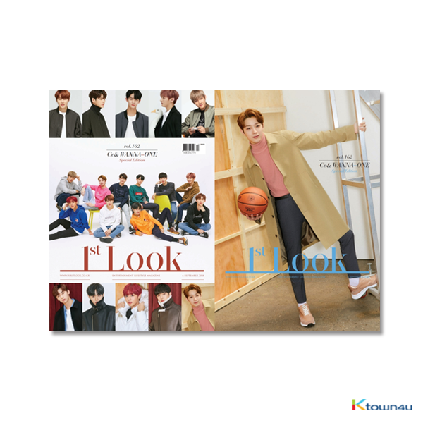 1ST LOOK- Vol.162 (Front Cover : WANNA ONE Group / Back Cover : Lai Kuan-Lin)