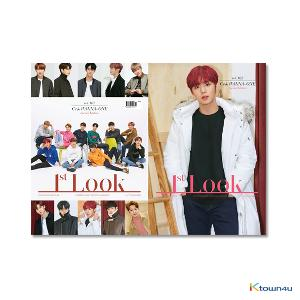 1ST LOOK- Vol.162 (Front Cover : WANNA ONE Group / Back Cover : Park ji hoon)