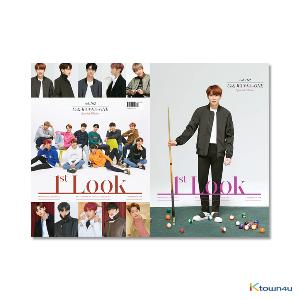 1ST LOOK- Vol.162 (Front Cover : WANNA ONE Group / Back Cover : Ha Sung Woon)