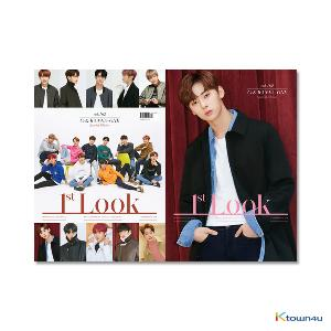 1ST LOOK- Vol.162 (Front Cover : WANNA ONE Group / Back Cover : Hwang Min Hyun)