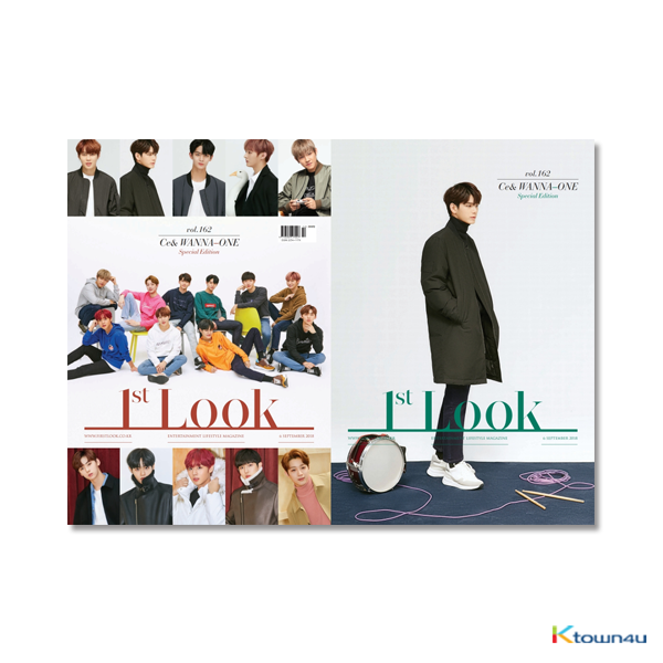 1ST LOOK- Vol.162 (Front Cover : WANNA ONE Group / Back Cover : Ong Seong Woo)