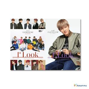 1ST LOOK- Vol.162 (Front Cover : WANNA ONE Group / Back Cover : Park Woo Jin)