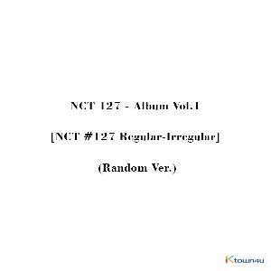 NCT 127 - Album Vol.1 [NCT #127 Regular-Irregular] (Random Ver.) *Different versions will be sent in case of purchasing more than 2 albums