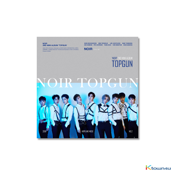 NOIR - Mini Album Vol.2 [TOPGUN]