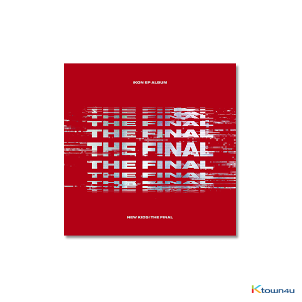 iKON - EP Album [NEW KIDS : THE FINAL] (RED Ver.)