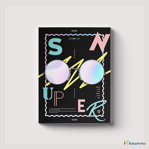 SNUPER - Special Edition Album [You In My Eyes]