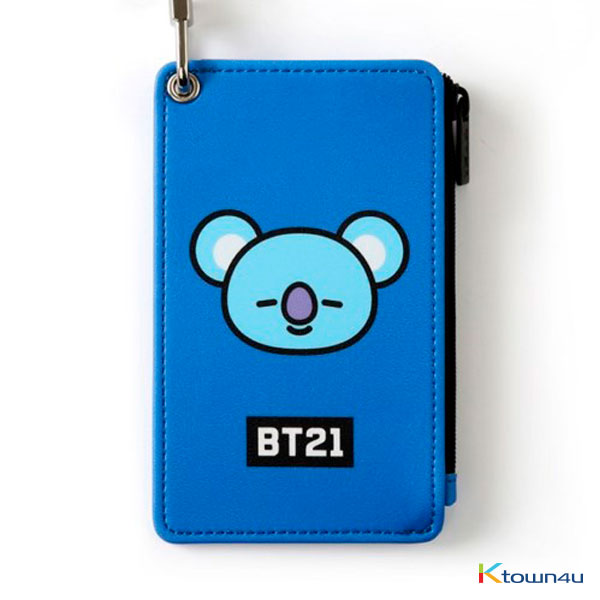 [BT21] STRAP CARD HOLDER : KOYA