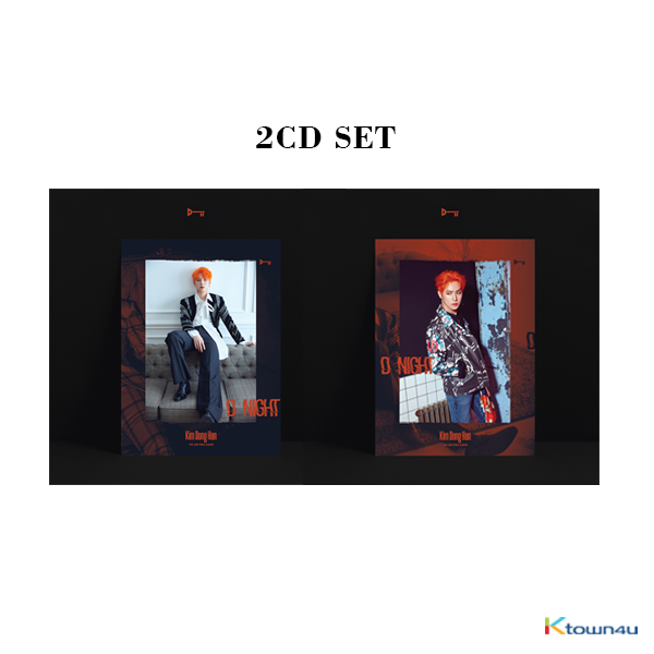 [SET][2CD SET] Kim Dong Han - Mini Album Vol.2 [D-NIGHT] (A Ver. + B Ver.)