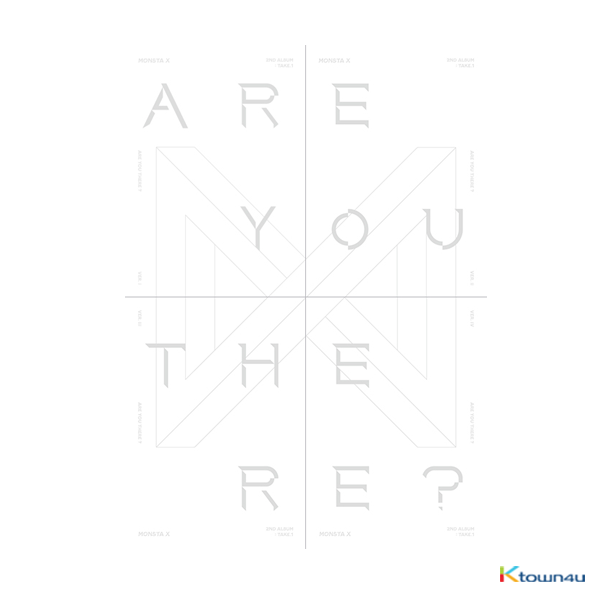 MONSTA X - Album Vol.2 [ARE YOU THERE?] (Random Ver.)