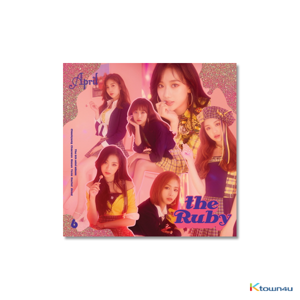APRIL - Mini Album Vol.6 [the Ruby]