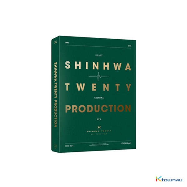 [DVD] SHINHWA - SHINHWA 20th Anniversary PRODUCTION DVD